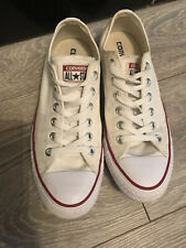 UNISEX CONVERSE ALL STAR CHUCK TAYLOR WHITE TRAINERS SIZE UK 7 Eu 40