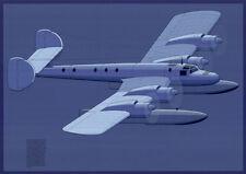 "Otl Aicher - Design-Studie DIN A1 ""Postflugzeug Lufthansa"" Design / Grafik"