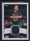 """2012 WWE TOPPS """"HORNSWOGGLE"""" EVENT WORN SHIRT RELIC INSERT WRESTLING CARD NEW"""