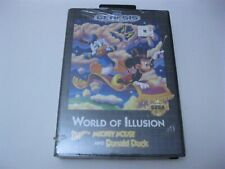 World Of Illusion Starring Mickey Mouse and Donald Duck factory sealed Sega Gen