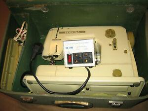 Bernina Sewing Machine Model 708 European 220V with 110 V Converter Vintage