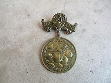 vintage 1909 Bpoe Elks Grand Junction Lodge Los Angeles Ca Membership Medal Pin