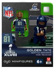GOLDEN TATE  NFL SUPERBOWL XLVIII NFC CHAMPS SEATTLE SEAHAWKS FOOTBALL Oyo NEW