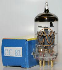 JJ Gold Pin preamp tubes, ECC81/12AT7, BRAND NEW !!!