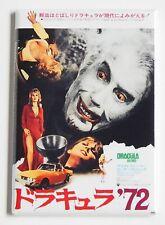 Dracula '72 (Japan) FRIDGE MAGNET (2.5 x 3.5 inches) movie poster japanese