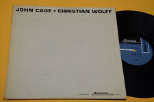 JOHN CAGE LP CHRISTIAN WOLFF 1°ST ORIG EX AVANTGARDE EXPERIMENTAL USA 70