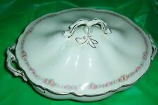 Johnson Brothers England Oval Covered Vegetable Bowl Vintage Antique