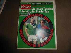 Fussball KICKER Sportmagazin No 54 1970, Mannschaftsfotos TeBe, FK Pirmasens