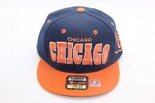 CHICAGO CITY 3D EMBROIDERY SNAPBACK, HAT BASEBALL CAP, POLYESTER, ADJUSTABLE