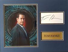 TOM HANKS Signed 16x12 Photo Display THE DA VINCI CODE & SAVING PRIVATE RYAN COA