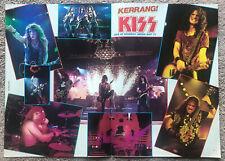 KISS - 1992 UK Magazine centrefold poster