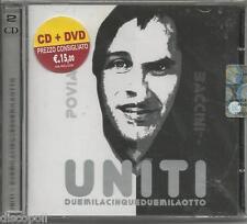 POVIA FRANCESCO BACCINI - Uniti - CD + DVD 2008 SIGILLATO SEALED