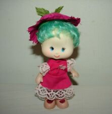 Vintage Strawberry Shortcake 1980s Clone Fakie HK Hong Kong Flower Doll