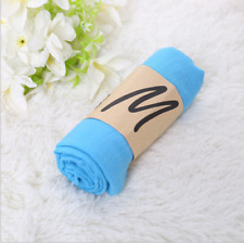 2019  Blue Style Lady Women Scarves Long Soft Cotton Scarf  Girls Shawl Stoles