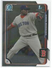 Simon Mercedes Boston Red Sox 2015 Bowman Chrome Prospect Card