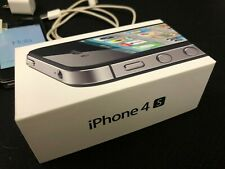 Apple iPhone 4s - 32GB with retail box Black (Verizon) A1387 (CDMA + GSM) WORKS