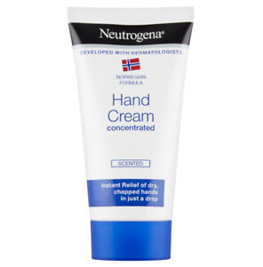 6x75ml Neutrogena Hand Cream Instant Relief of Dry, Chapped Hands in Just a Drop