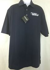 NWT $60 Ping Collection Polo Real  World Golf Madcatz Logo Dry Fiber L