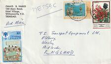 1979 Trinidad&Tobago cover from Wiliamsville to Oldbury, West Midlands