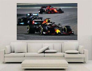Canvas Wall Art - F1 2021 - Max Verstappen