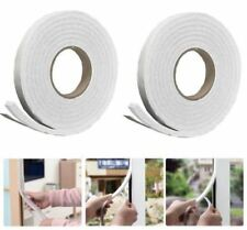 2 X 5M Foam Draught Excluder Weather Seal Strip Insulation Door Window Tape wind