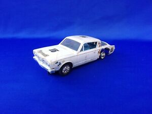 """$1-5 Strombecker 1966 PLYMOUTH BARRACUDA 1:32 """"Parts"""" Slot Car w/ Alum Chassis"""