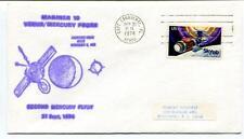 1974 Mariner 10 Venus Mercury Probe Second Flyby Cape Canaveral Skylab USA SAT
