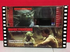 Star Wars ESB 70mm Film Collector Cels Limited Edition Authentic Yoda RARE