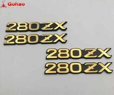 Datsun 1979-83 New Golden 280ZX Front Fender Side Emblem Badges Fairlady-Z S130