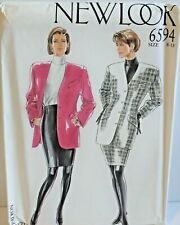 New Look 6594 Sewing Pattern Jacket Skirt Sizes 8-18