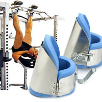 Set Gravity Boots Inversion Therapy Gym Fitness Physio Hang Spine Posture Back