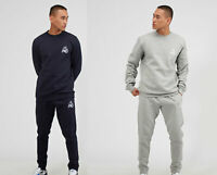Kings Will Dream KWD Mens New Tracksuit Top Sweatshirt Joggers Crosby Navy Grey