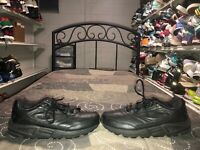 Brooks Addiction Walker Womens Leather Athletic Walking Shoes Size 9.5 2A Black