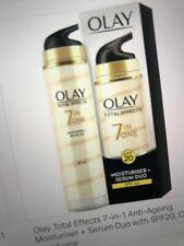 Olay Total Effects 7-in-1 Moisteriser & Serum Duo SPF-20 40ml