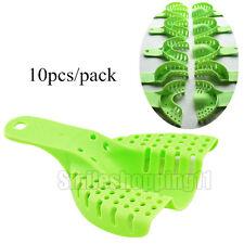 10 pcs/set Dental Supply Impression Trays Autoclavable Central Denture