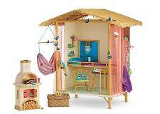 NEW 2016 American Girl Doll Lea Clark Rainforest House COMPLETE Global Shipping