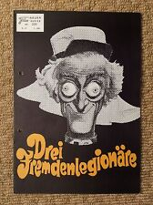 THE LAST REMAKE OF BEAU GESTE Vintage Movie Program MARTY FELDMAN ANN-MARGRET