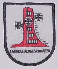 Marine Aufnäher Patch 1. Minensuchgeschwader - 1. MSG ........A4049