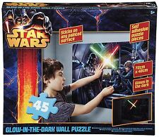 Star Wars - 45pcs Glow In The Dark Wall Puzzle **WAS 9.99 - NOW £4.99** 50% OFF
