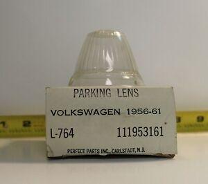 NOS Volkswagen Turn Signal Lamp Lens Light 111953161 1956-1961 VW (703)