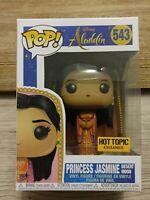 Funko Pop Disney Aladdin Princess Jasmine Desert Moon 543 Hot Topic Exclusive