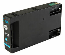 1 Cyan T7022 non-OEM Ink Cartridge For Epson Pro WP-4545DTWF WP-4595DNF