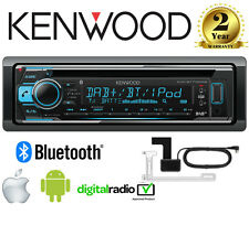 Kenwood KDC-BT710DAB CD MP3 Bluetooth DAB+ Stereo iPhone/Android + Antenne Incl