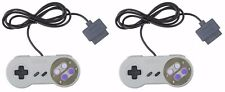 2x SNES Super Nintendo Game Console Controller - USA Seller