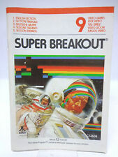 Anleitung - Handbuch - Bedienungsanleitung Atari - Super Breakout