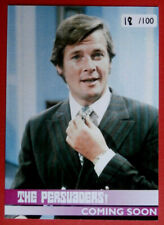 THE PERSUADERS! - Promo Card PR1 - Hand-Numbered Limited Edition #18 of 100