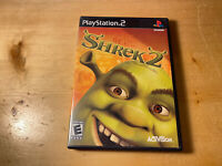 Shrek 2 (Sony PlayStation 2, 2004) No Manual ,Ships Free