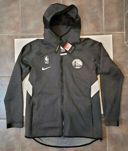 Nike Golden State Warriors NBA Therma Flex Showtime Hoodie AT8462-032 Mens Sz L