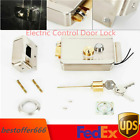 12V Electric Electronic Door Lock for Doorbell Intercom Access Control With Keys photo