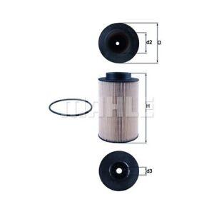 1 Kraftstofffilter MAHLE KX 191/1D passend für MAN LIEBHERR